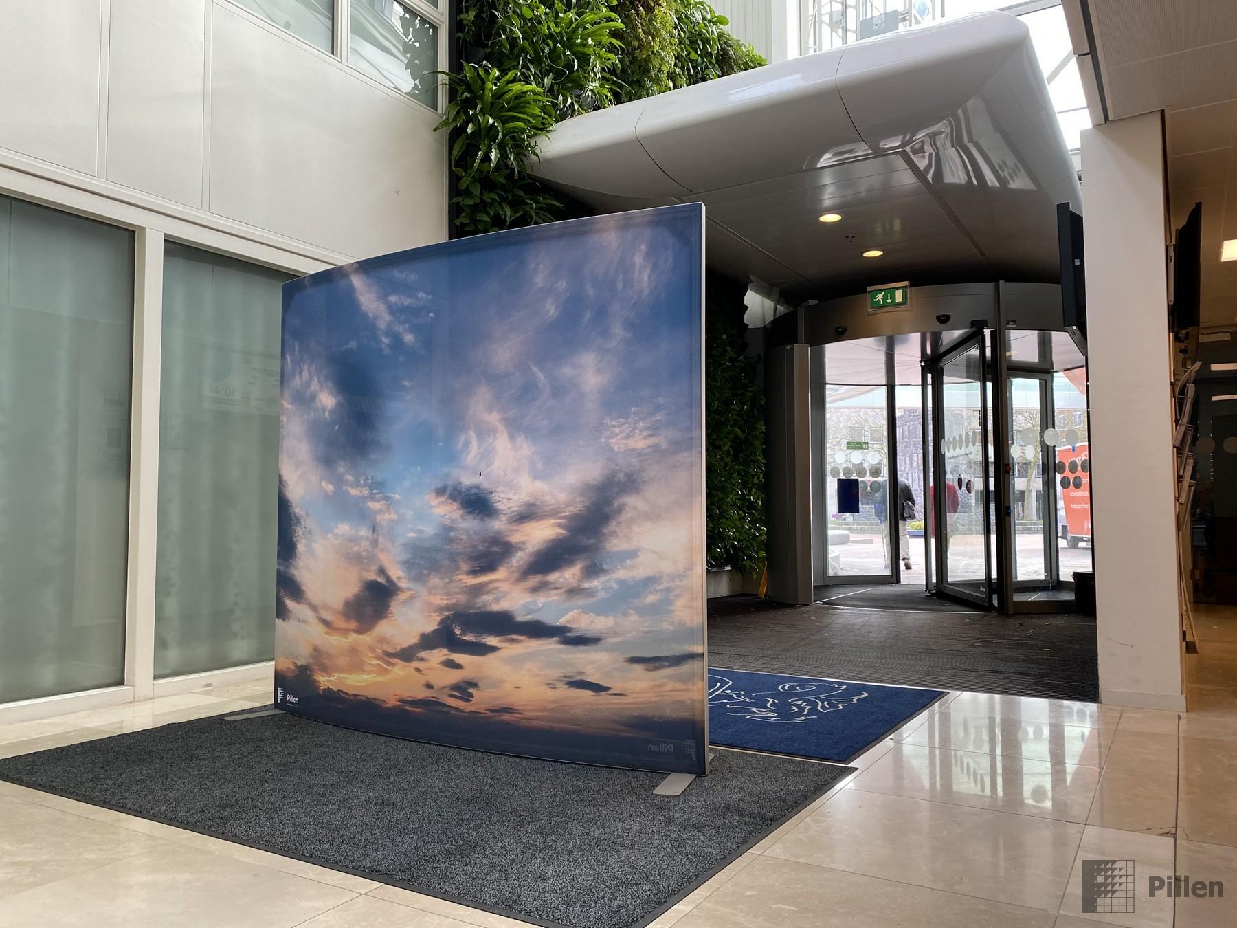 Eingangsbereich Luftstrom Lösung