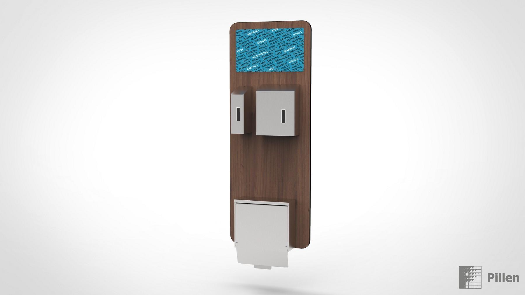Hygienebord als hygiene station